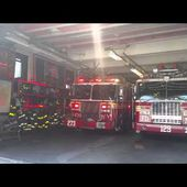 FDNY Engine 273 responds to a person hit by car