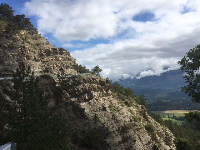 Route du col de Pennes, après Jansac