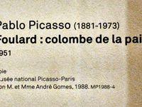 La Colombe de la Paix vision Picasso