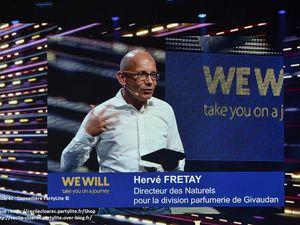 Une intervention de qualité pour bien commencer avec Hervé Fretay, directeur des Naturels pour la division parfumerie de Givaudan.