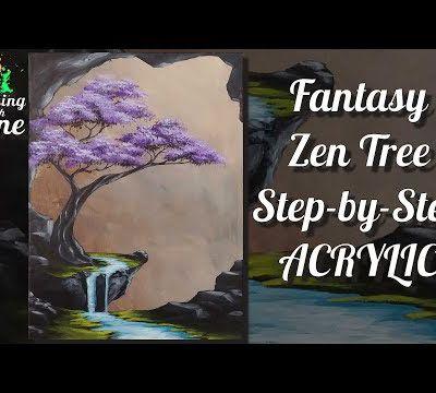 Fantasy Zen Tree ...