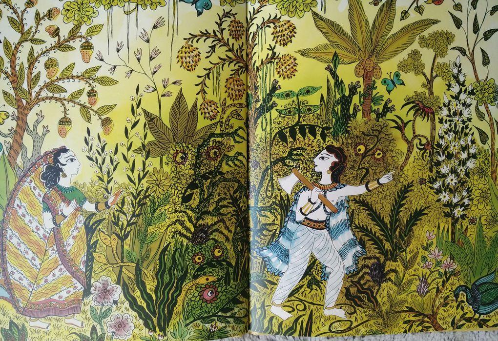 Savitri la Vaillante. Conte de l'Inde. Béatrice TANAKA – 1985 (Dès 5 ans)