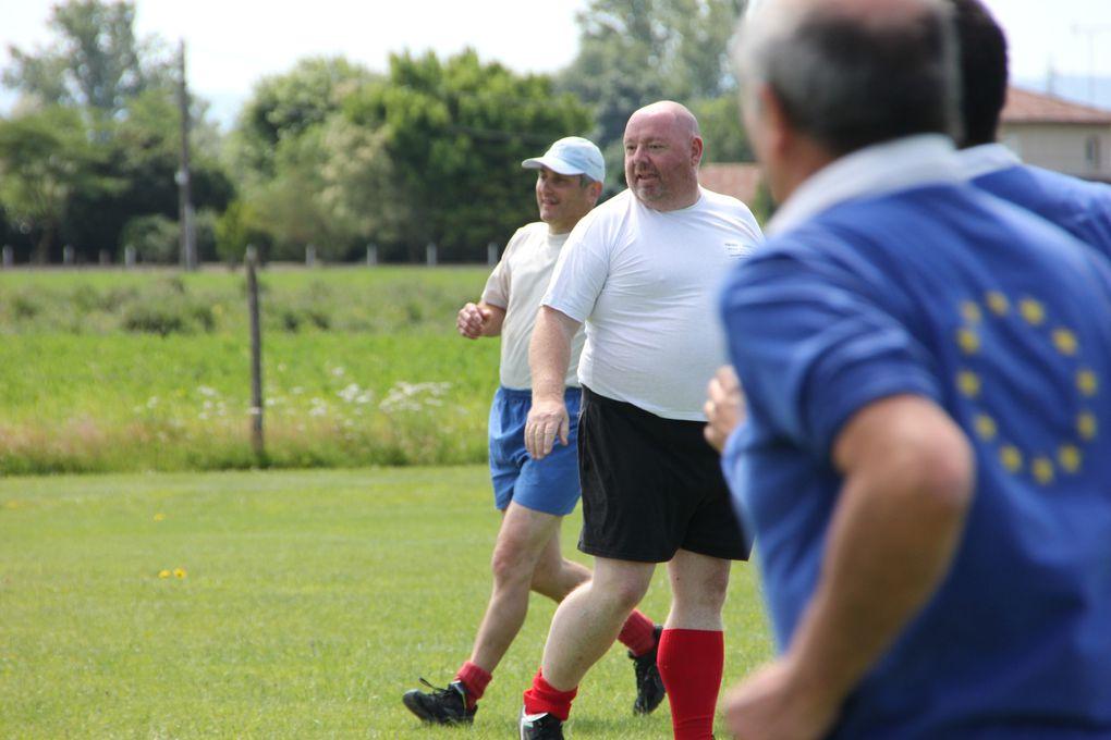 16 juin 2012, le XV de Bill participe  au tournoi d'inauguration du Comité de l'Ain de Rugby