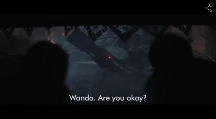 """...mais j'imagine qu'il doit dire un truc genre """"accident"""" et que Wanda est très proche de comprendre qu'il ne s'agissait absolument pas d'un accident, que sa maison et ses parents étaient précisément visés."""