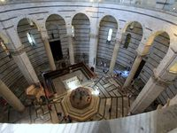 Le baptistère de la cathédrale de Pise - Eté 2013