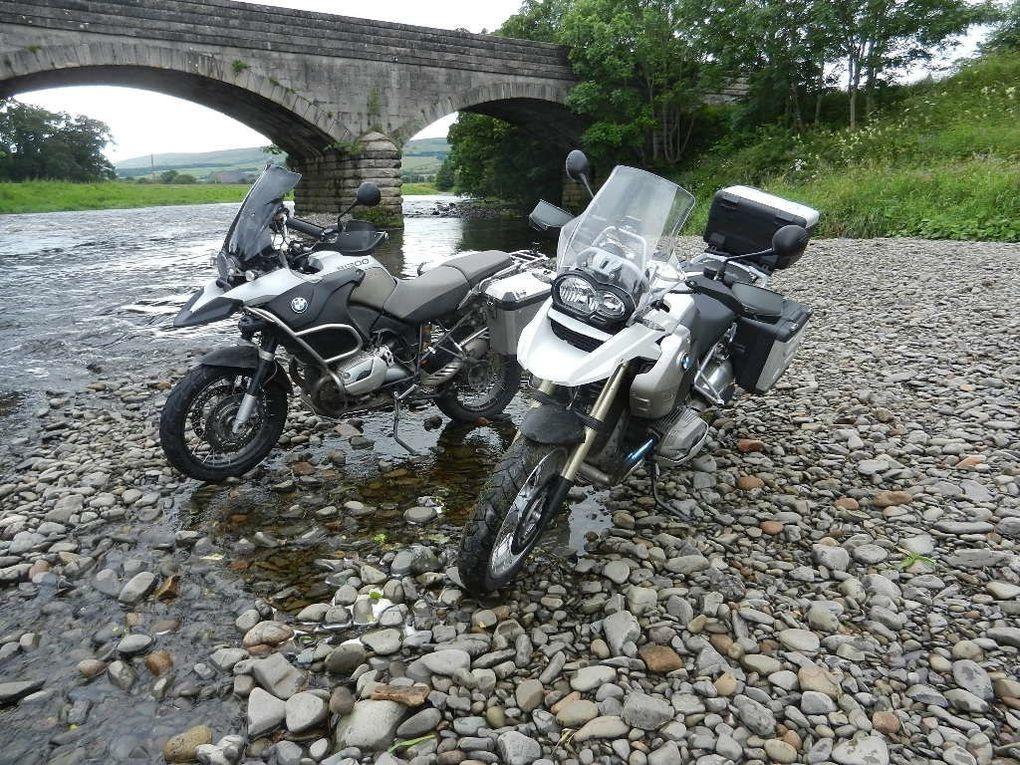 L'Ecosse à moto, des routes faites pour des motards. Quelques clichés de notre voyage en Ecosse en juillet 2012