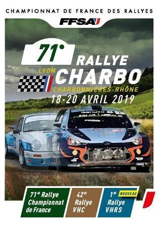 Calendrier du championnat de France des rallyes 2019