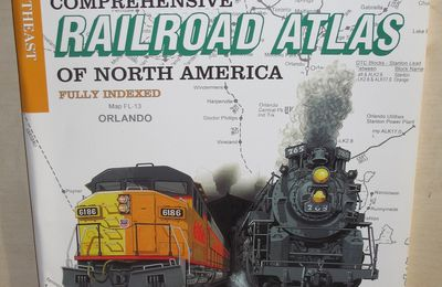 SPV's Comprehensive Railroad Atlas of North America Southeast