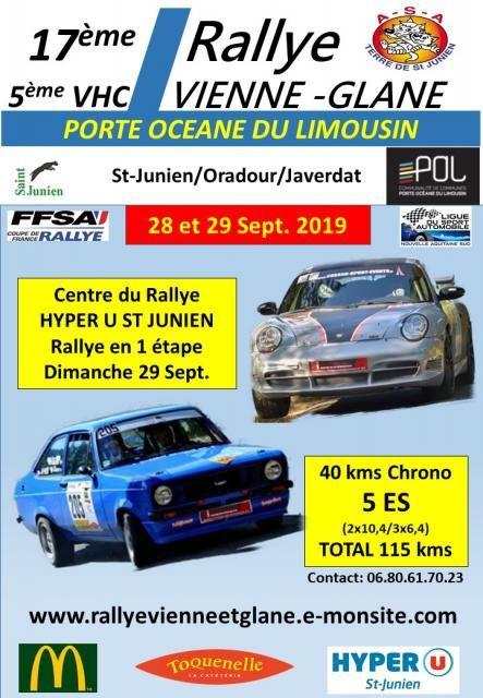 Rallye Vienne et Glane 2019