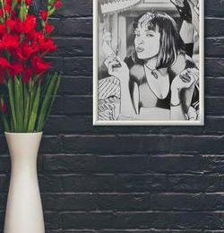 Add A Wow Factor To Your Living Space with Wall Arts & Wallpapers