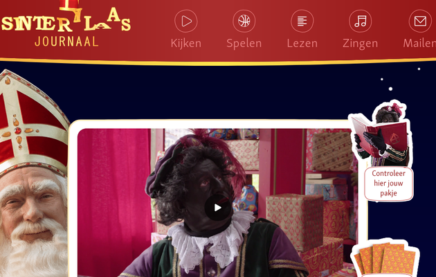 L'instant néerlandais du jour (2018_11_22): het Sinterklaasjournaal