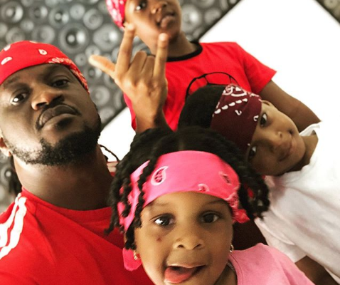 Adorables photos de Paul Okoye et de ses enfants