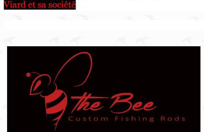 Solidarité chauvine ! The Bee custom fishing rods.