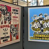 Robert Micheau-Vernez et les fêtes bretonnes : belle expo en mairie de Quimper - Penhars Infos Quimper