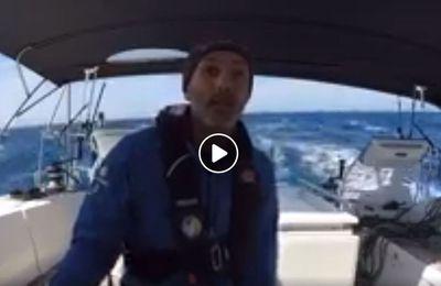 Directs de la Transat Odyssée Bleue - Stéphane Mifsud sur le chemin du retour