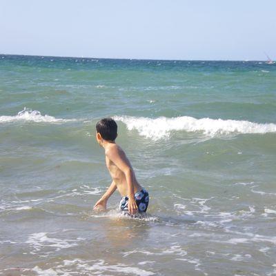 Le rituel du bain de mer