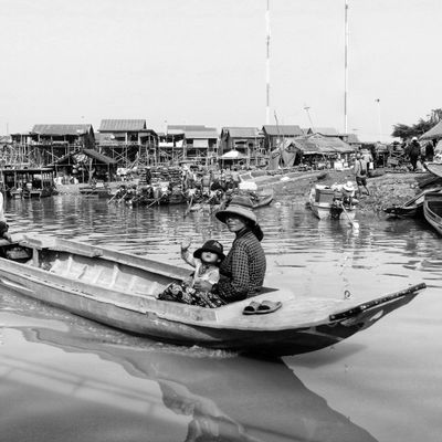 Lac Tonlé Sap. Cambodge