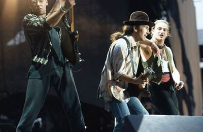 U2 -Joshua Tree Tour 1987 en Vidéos Concert.