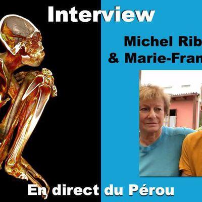 Momies de Nazca : Interview Michel Ribardière et Marie-France Henry