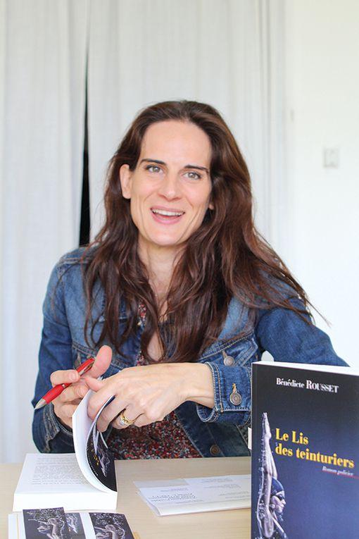 Le Lis des teinturier, roman policier de Bénédicte Rousset, chez Elan Sud