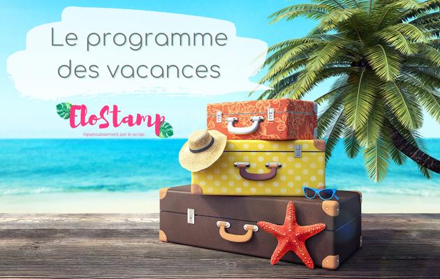 Le programme de l'été, le prochain mini catalogue et Portes ouvertes
