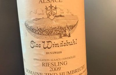 Alsace Riesling Clos Windsbuhl 2009 Zind-Humbrecht