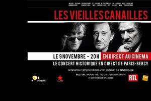 """""""Les Vieilles Canailles"""" en Direct au Cinéma de Mâcon"""
