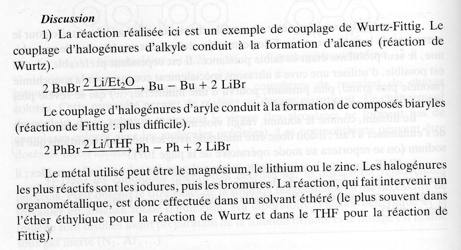 220 - synthèse du biphényle