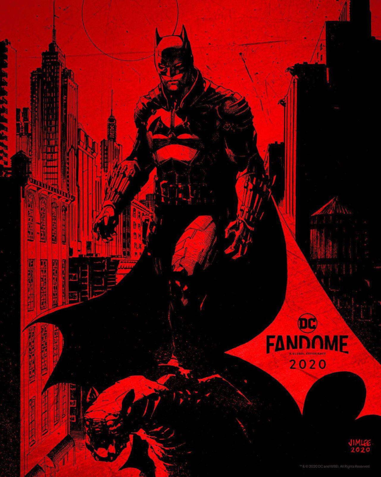 The Batman, affiche du Fandom DC 2020.