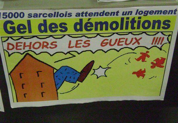 DAL HLM – Non aux démolitions des HLM! Rass. lundi 23 à 9h
