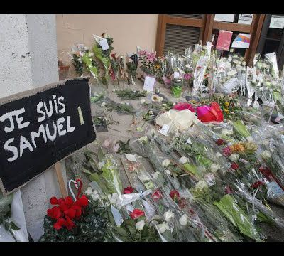 Slam en hommage à Samuel Paty, enseignant martyr