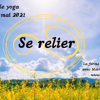 """Retraite de Yoga et stage """"Crée toi-même""""... Beau programme pour ce mois de mai!"""