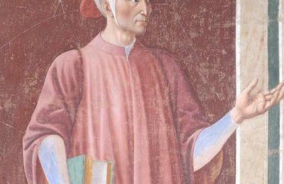 """Le portrait de Dante par Andrea del Castagno restauré. Il Dante di Andrea del Castagno """"ringiovanito"""" dal restauro dell'Opificio delle Pietre Dure. Célébrations du 700e anniversaire de la mort du poète. Forli et Ravenne."""
