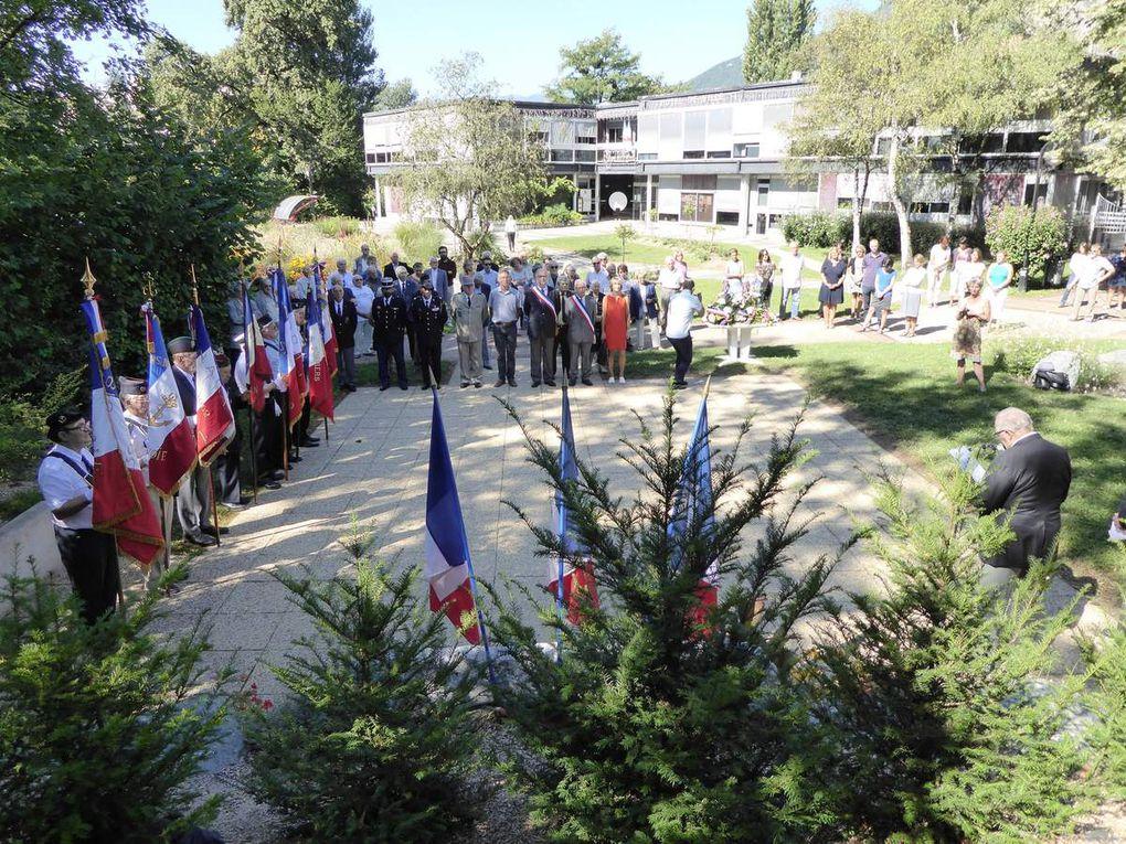 73 ème anniversaire de la Libération de la commune de Meylan