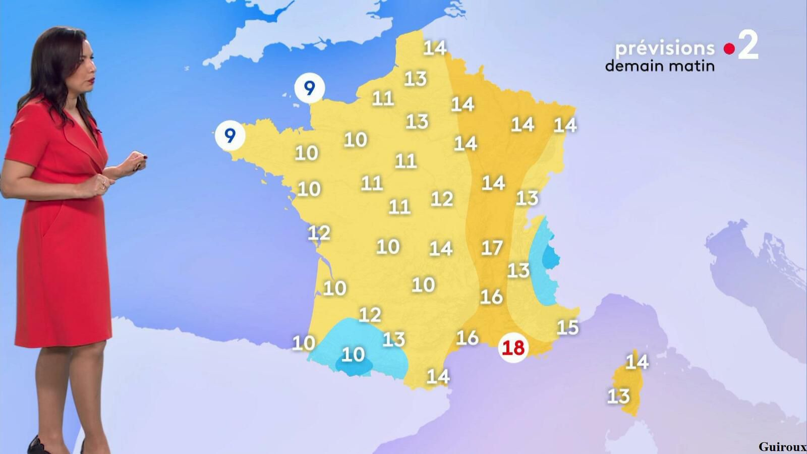 Anaïs Baydemir 09/05/2021 Journaux météo du soir