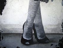 Peinture: Escarpins n°2