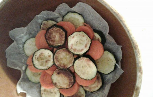 CRUMBLE COURGETTES-CAROTTES