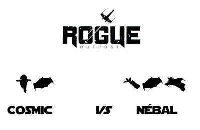 Rogue Outpost Weekly League season 3 round 1: Cosmic (Scum and Villainy) vs Nébal (Scum and Villainy)