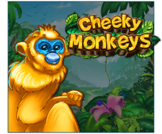 machine a sous mobile Cheeky Monkeys logiciel Booming Games