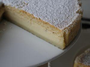Gâteau magique à la vanille de Madagascar sans gluten