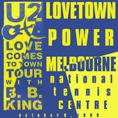 U2 -Lovetown Tour -09/10/1989 -Melbourne Australie- National Tennis Center - U2 BLOG