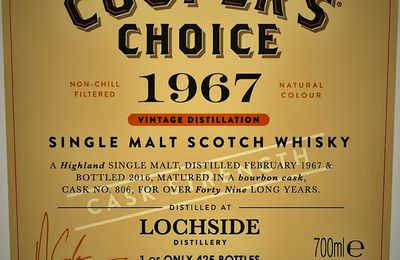 Lochside 49Y Cooper's Choice