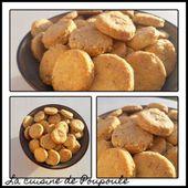 Sablés Cantal et noix