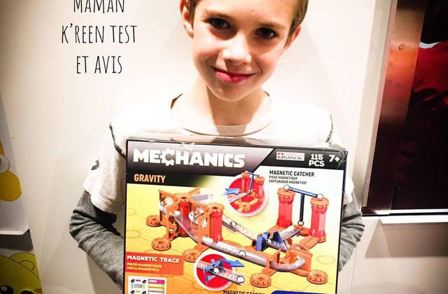 Tom a testé le coffret Geomag Mechanics Gravity