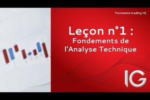 Apprendre la bourse: fondements de l'analyse technique
