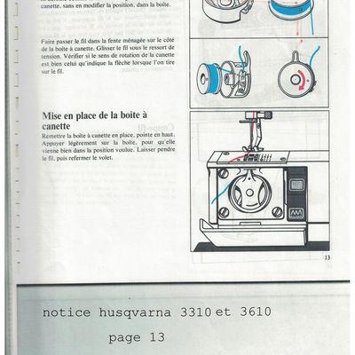 MàC Husq 3310-3610, la canette et son boitier.
