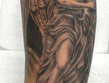 tatouage ange bras