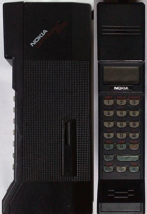 Telephone portable vintage de collection Nokia Cityman Mobira
