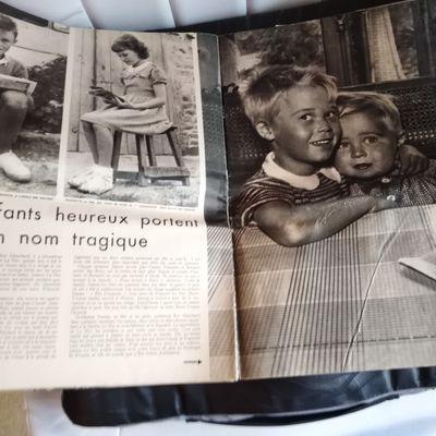 Les Seznec Le Her dans Paris Match du 6 août 1949
