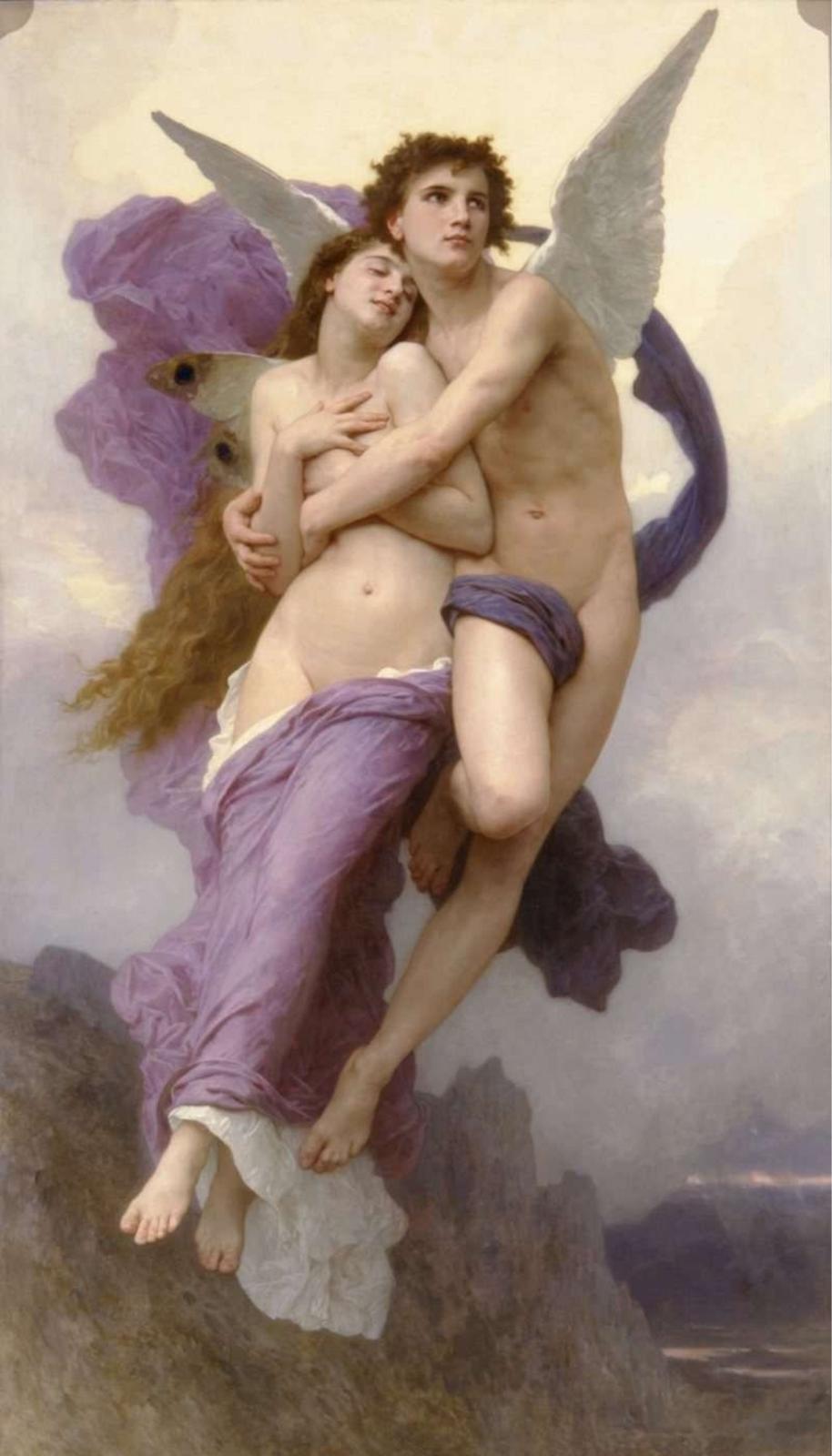 Amor und Psyche von William Adolphe Bouguereau